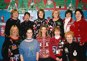 Group Holiday Sweater photo