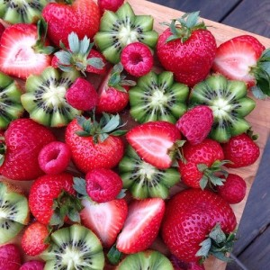 Berries and Kiwis