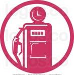 royalty-free-vector-logo-of-a-retro-pink-fuel-pump-by-patrimonio-743