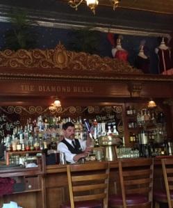 Diamond Belle Saloon in Strater Hotel, Durango.
