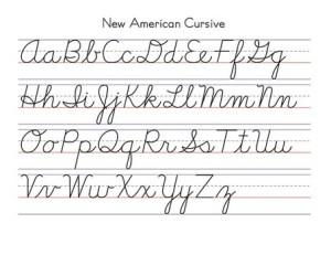 New_American_Cursive