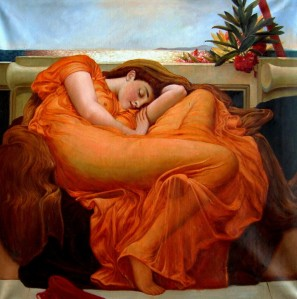 """Flaming-June""-by-Sir-Fredrick-Leighton"